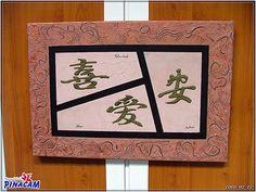 Lienzo con texturas. www.manualidadespinacam.com #manualidades #pinacam #madera #cuadros. #lienzo