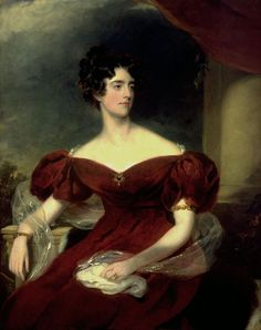 Charlotte Georgina Jerningham, later Lady Lovat, Thomas Lawrence, 1823