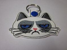 So Grumpy Cat Key Fob