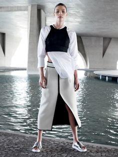 visual optimism; fashion editorials, shows, campaigns & more!: rio futurista: aline weber by giampaolo sgura for vogue brazil november 2014