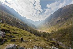 Coire Gabhail (The Lost Valley), Glen Coe, Scotland (Uk) | by Martino Zegwaard ~ over 10 million hits, thanks!