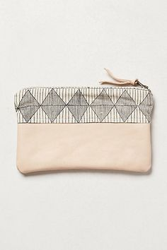 Leather pouch...made in the USA...Anthropologie...