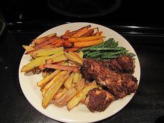 Organic Spiced Chicken With Roasted Vegetables & Asparagus