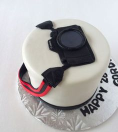 Cake Cookies, Cupcake Cakes, Camera Cakes, Artist Cake, Cake Decorating Techniques, Novelty Cakes, Cakes For Boys, Fancy Cakes, Cake Tutorial