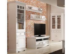 Biele drevené police z masívu Belluno Elegante, 2d, Furniture, Police, Home Decor, Cabinets, Decoration Home, Room Decor, Home Furnishings, Home Interior Design