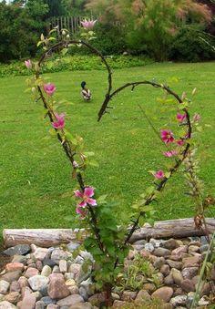 50 Stunning Spring Garden Ideas for Front Yard and Backyard Landscaping - Garten Ideen Diy Garden Decor, Garden Crafts, Garden Ideas, Backyard Ideas, Backyard Designs, Diy Garden Projects, Garden Decorations, Diy Crafts, Outdoor Landscaping