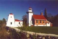 Sherwood Point Lighthouse, Wisconsin at Lighthousefriends.com
