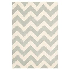 Grey & Ivory hand-tufted rug, made in India (Joss)