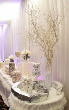 wedding dessert table idea. to see more: www.modwedding.com