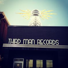 """See 463 photos and 53 tips from 3629 visitors to Third Man Records. """"Get there before opening on Friday to get tickets for the behind the scenes tour. Nashville Map, Nashville Tennessee, Get Tickets, Behind The Scenes, Third, Neon Signs, Places, Lugares"""