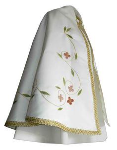 Manto sagrado para figura de la Virgen María confeccionado en raso blanco. Prenda bordada con flores en todos rojizos y rosas. Las hojas son de color verde y contorno decorado con galón dorado. Manto totalmente personalizable, pídenos presupuesto. (2/4) http://www.articulosreligiososbrabander.es/manto-imagen-figura-virgen-maria-raso-bordado.html #Manto #MantoVirgenMaria #MantoImagen #VirginMantle