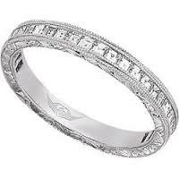 Image result for delicate 3 sided diamond band