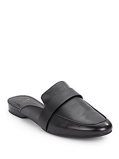 Ainsleigh Leather Mules - SaksOff5th