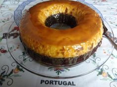 Choco Flan Cake - Yummy and easy recipe by Tia Maria's Portuguese food blog! :)