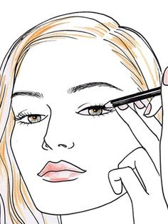 How to Apply Mascara Perfectly :I have devised this Step by step tutorial on how to apply mascara.