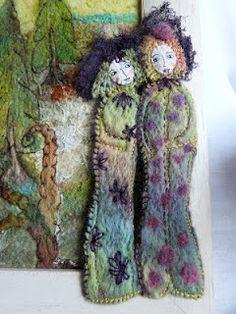 textile artist - Annette Emms                                                                                                                                                                                 More                                                                                                                                                                                 More