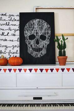 Bekijk 'Halloween spooky skull' op Woontrendz ♥ Dagelijks woontrends ontdekken en wooninspiratie opdoen!