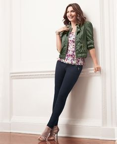 Finally, jeans that fit perfectly everyday! #goodjeans #whbm