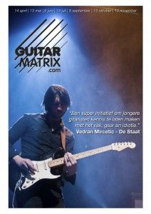 Idiotie bij 2e editie Guitar Matrix festival komende zondag