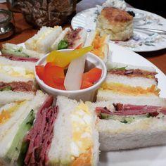 下北沢・ラ・パレット☆おいしいスコーンとサンドイッチ http://www.tokyo-cafe.com/afternoontea/165/
