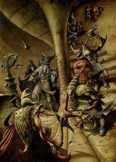 Fantasy Posters, Fantasy Artwork, High Fantasy, Sci Fi Fantasy, Space Fantasy, Illustrations, Illustration Art, The Rock, Heavy Metal