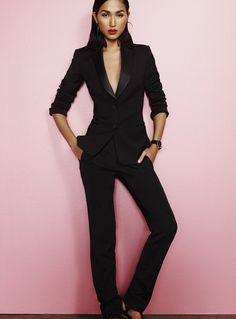 Sexy Women'S Tuxedo 94