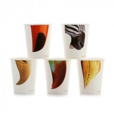 20 Lokyo Paper Cups - Snouts And Becs