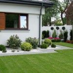 Ogród geometryczny - Tajemniczy Ogród Front Garden Landscape, Garden Landscaping, Modern Garden Design, Locks, Gardening, Fresh, Plants, Gardens, Deco