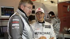 SCHUMI WITH ROSS BRAWN