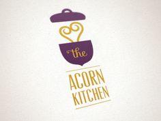 Dribbble - The Acorn Kitchen Logo by Inka Mathew