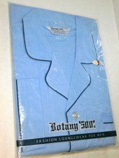 Botany 500 Fashion Loungewear For Men Blue Cotton Blend L Dominican Republic  #Botany500 #PajamaSets