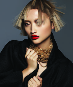 Australian Hairdresser of the Year Finalist Frank Apostolopoulos discusses the glamorous inspiration and process of his 2015 Hair Expo collection. http://www.industrieonline.com/opulent-glamorous-visionary/