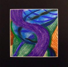 Purple Majesty greeting card