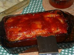 OuR KrAzy kItChEn...: OLD FASHIONED MEAT LOAF ~ CLASSIC GOOD EATS