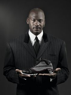 Michael Jordan and The 23's or as I call them my Grown and Sexy JO's! I love Jordan's but these are one of my fav's!