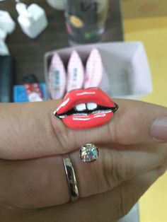 Etude house lips ring