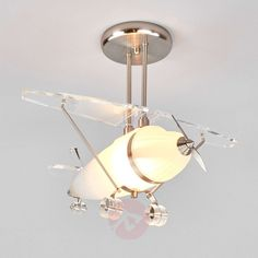 Buy Decorative ceiling light Flya, aeroplane form ✓Top-rated service ✓Comfortable & secure payment Years of experience ✓Order now! Decorative Ceiling Lights, New Room, Kids Bedroom, Shapes, Drop Earrings, Lighting, Inspiration, Home Decor, Products