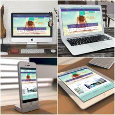 Vee işte karşınızda Royal Palm Beach Hotel için hazırladığımız web arayüzü tasarımları! :)  Şimdi sıra yazılımda! :)