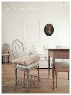 Our home in Gustavian/Swedish style