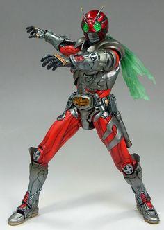 MaskedRider ZX S.I.C Kamen Rider Toys, Kamen Rider Series, Japanese Superheroes, Amon, Marvel Legends, Power Rangers, Cyber, Anime Characters, Pop Culture