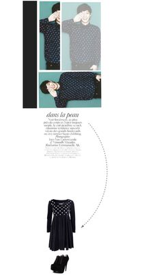 """""""Chen EXO M Blue"""" by imgenie4yourwish ❤ liked on Polyvore"""