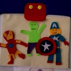 Superhero Felt board!