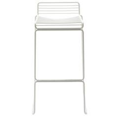 Hee bar chair, white