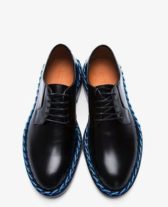 Raf Simmons. Chain-Trimmed Derby Shoes These would look good on you Khalid.