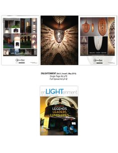 LED Outdoor Lights and The Misano-Lozzo-Rotem Collections in enLIGHTenment Magazine