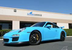 #Porsche GT3 - mexico blue