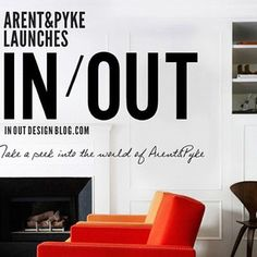 We're still here!! But our insta profile has just changed a little to @arentpyke_inout  Please keep following!! Lots of exciting things to come on Arent's blog In/Out!!!