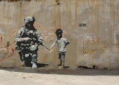 Le opere di Banksy (Foto) | Nanopress
