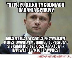 Wprost nadal przeciwko Durczokowi