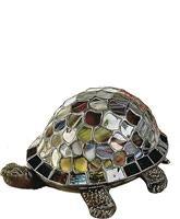 Blue Turtle Accent Lamp Antique Bronze 7908/816A